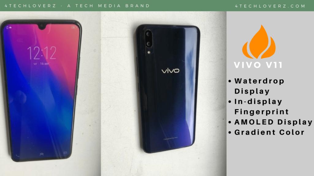Vivo V11 Pro in India on September 6 - Halo FullView Display