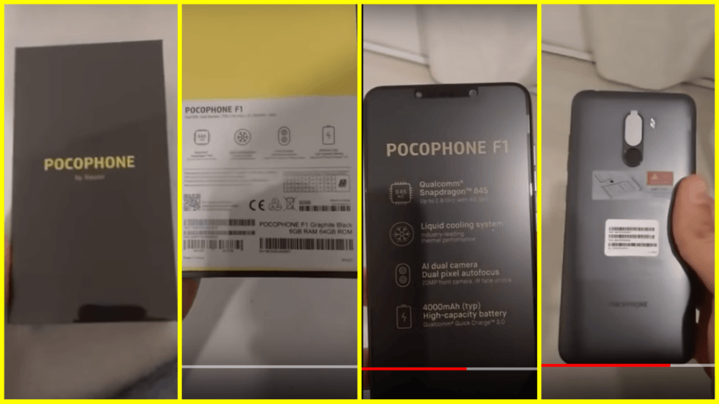 Xiaomi Pocophone F1 Unboxing Video