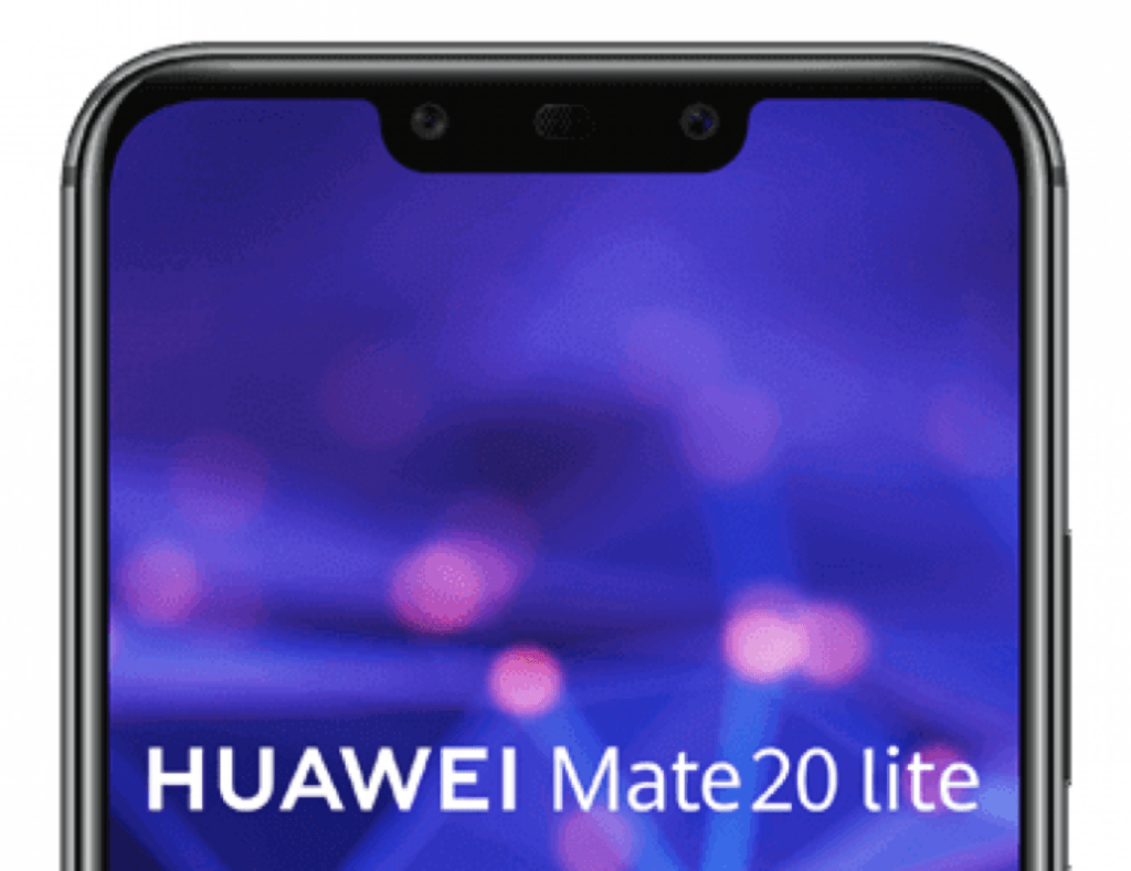 Huawei Mate 20 Lite Press Render