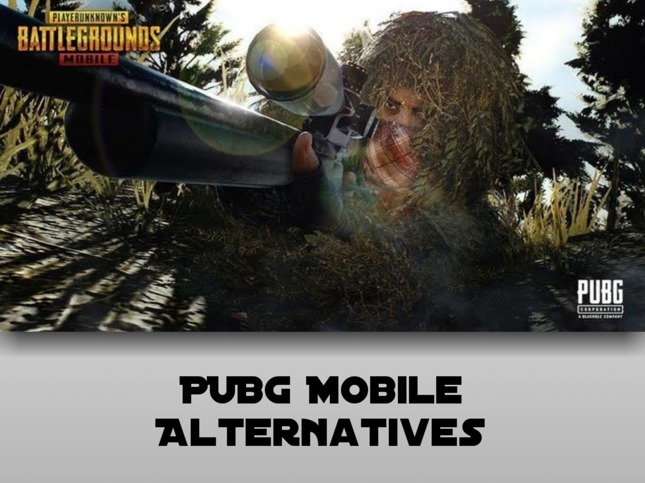 Top 10 Similar Type of games like PUBG Mobile:- PUBG Alternative