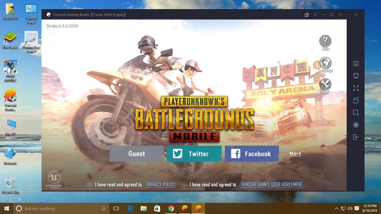 PUBG Mobile on PC - Install in Tencent Gaming Buddy Manually