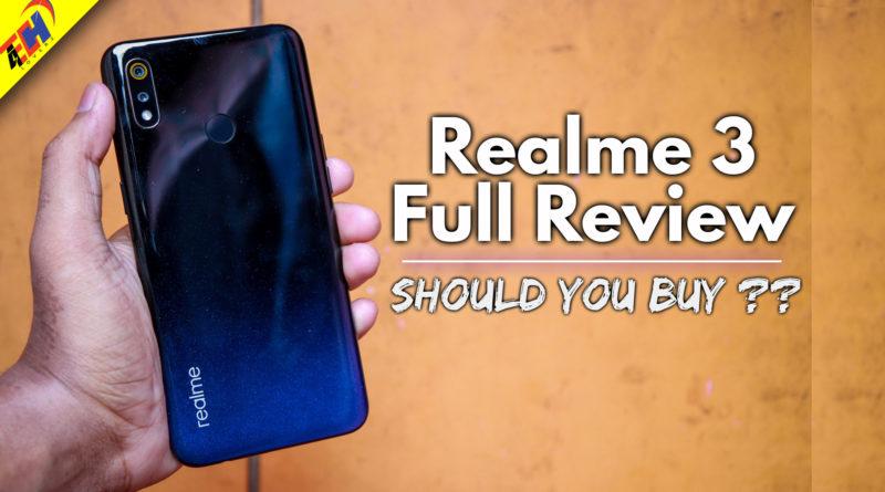 Realme 3 Buy