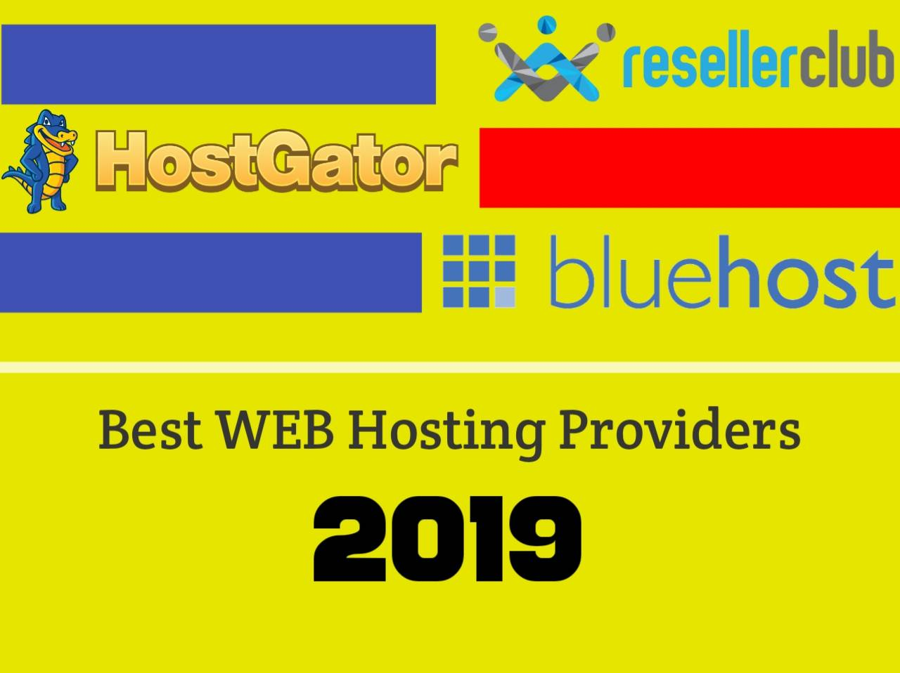 Best Web Hosting Providers in 2019