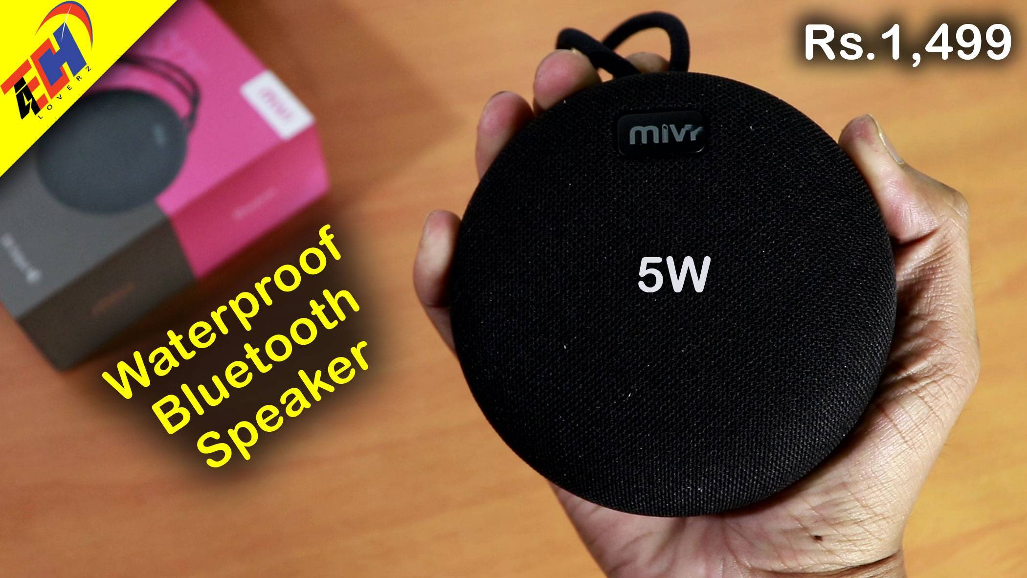 Mivi Roam Review: Better than JBL Go? Best Bluetooth Speaker under 1500?