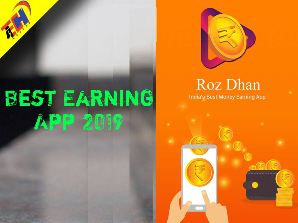 Best Earning App 2019 – Roz Dhan