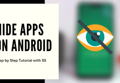 Best Ways of hiding apps on Android – (Like Tinder) 2019