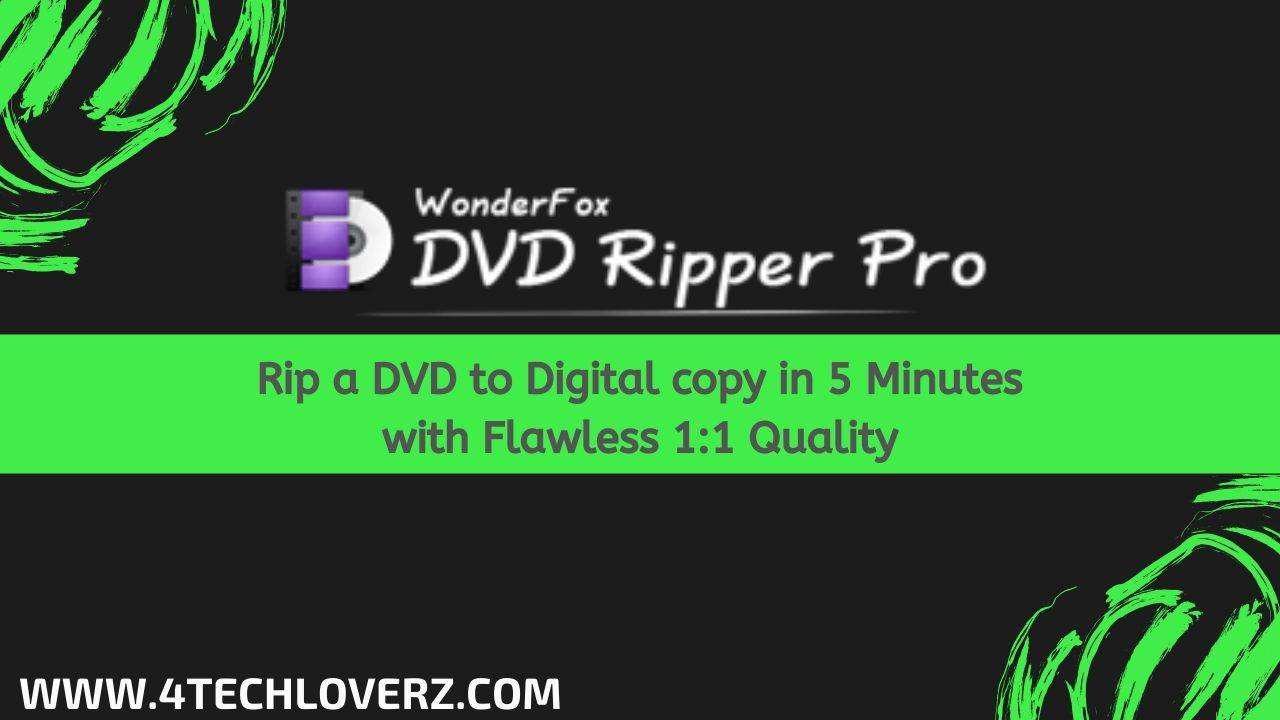 How to backup DVD with WonderFox DVD Ripper Pro?