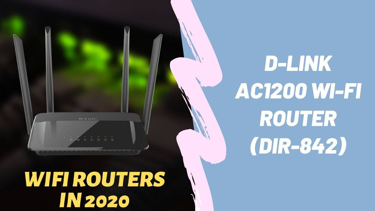 D-Link AC1200 Wi-Fi Router (DIR-842)