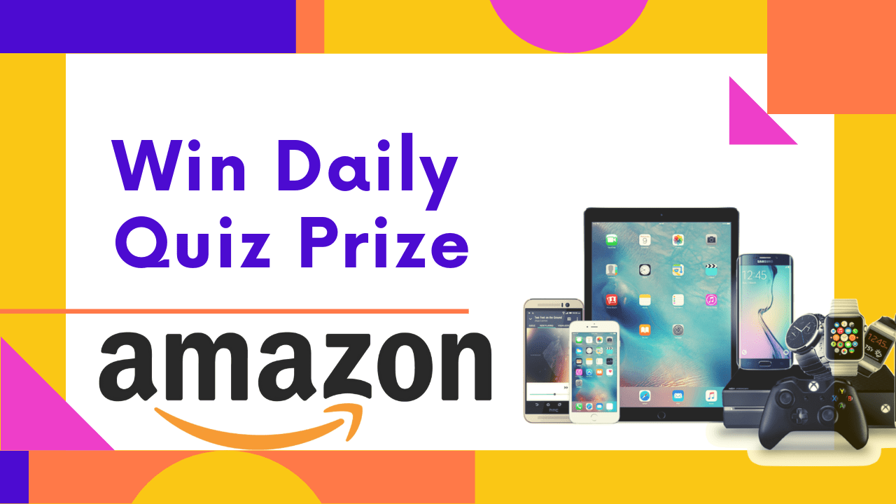 Amazon Quiz Answers Today (6th June 2020) – Win Fender acoustic guitar