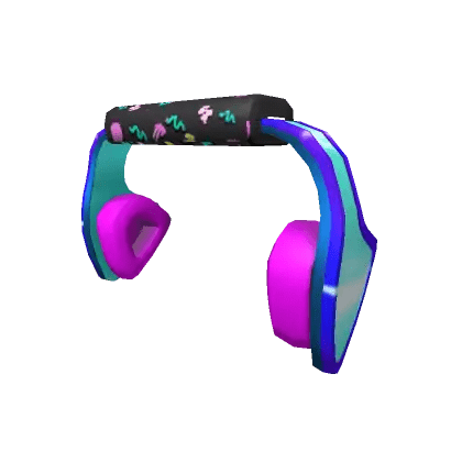 Gnarly Triangle Headphones Roblox