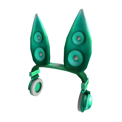 Techno Rabbit Headphones Roblox