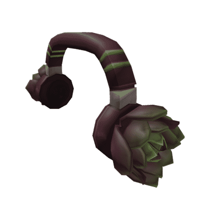 Black Prince Succulent Headphones Roblox
