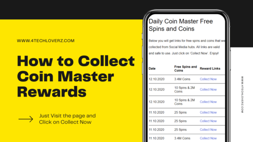 Collect Free Coin Master Rewards