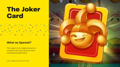 Joker Card in Coin Master